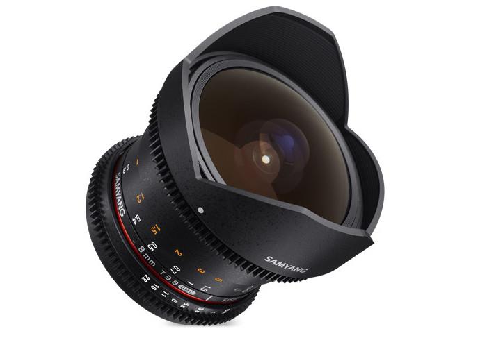 Samyang VDSLR II 8mm T3,8 Sony E
