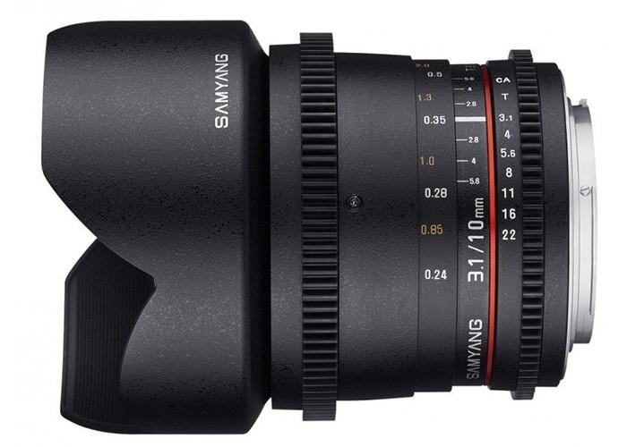 Samyang VDSLR II 10mm T3,1 Sony E
