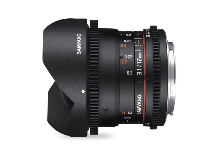 Samyang VDSLR 12mm T3,1 Sony E