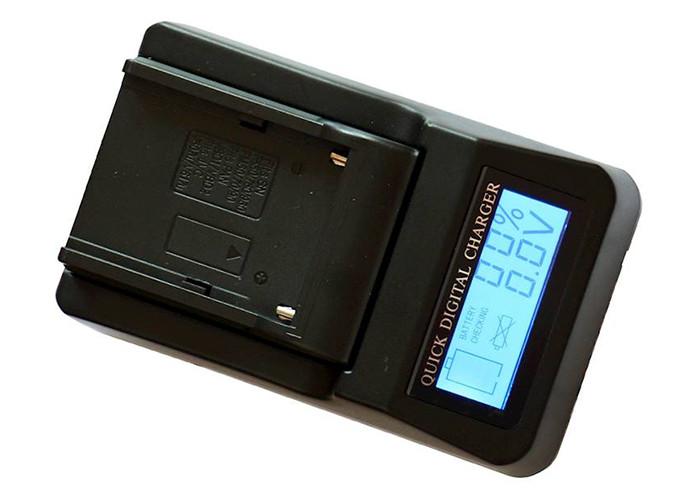 ZOOM Szybka  ładowarka mini DV LCD VBD