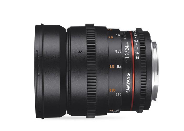 Samyang VDSLR II 24mm T1,5 Sony E