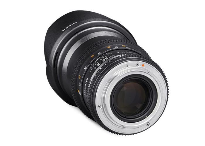 Samyang VDSLR II 35mm T1,5 Sony E