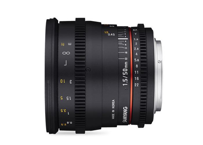 Samyang VDSLR 50mm T1,5 Sony E