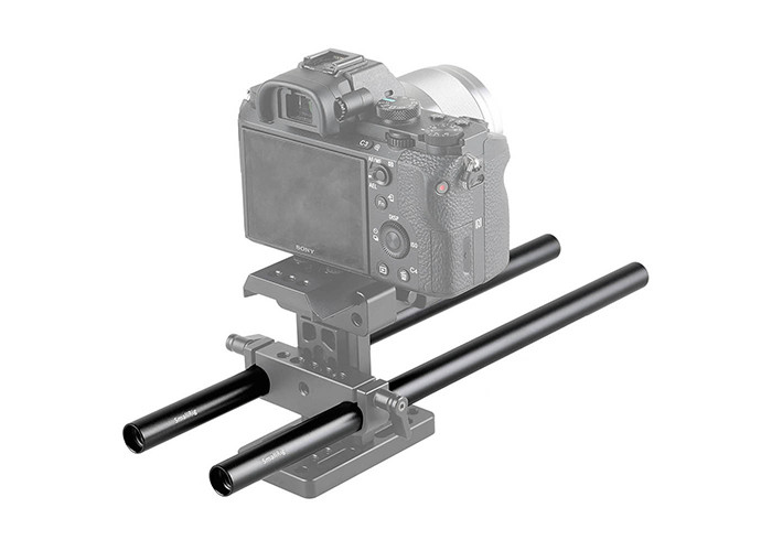 """SmallRig (1053) Alloy Pair of 15mm Rods (M12-12"""")"""