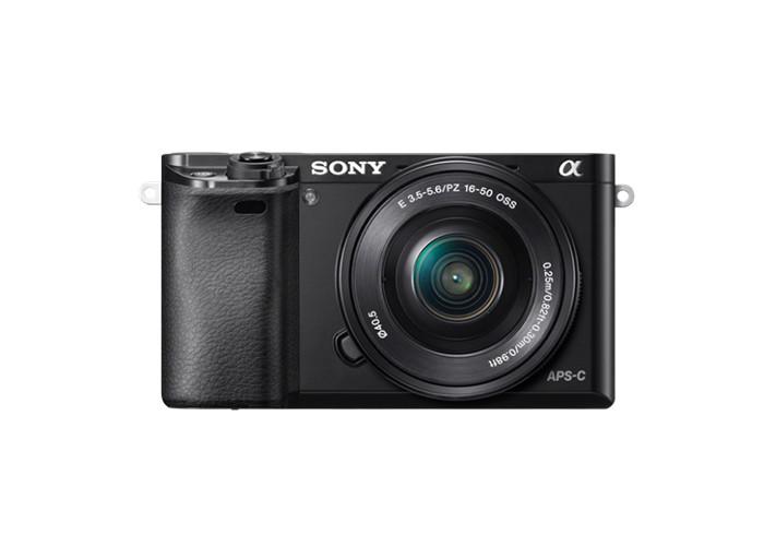 Sony A6000 set (ILCE6000LB SELP1650) czarny