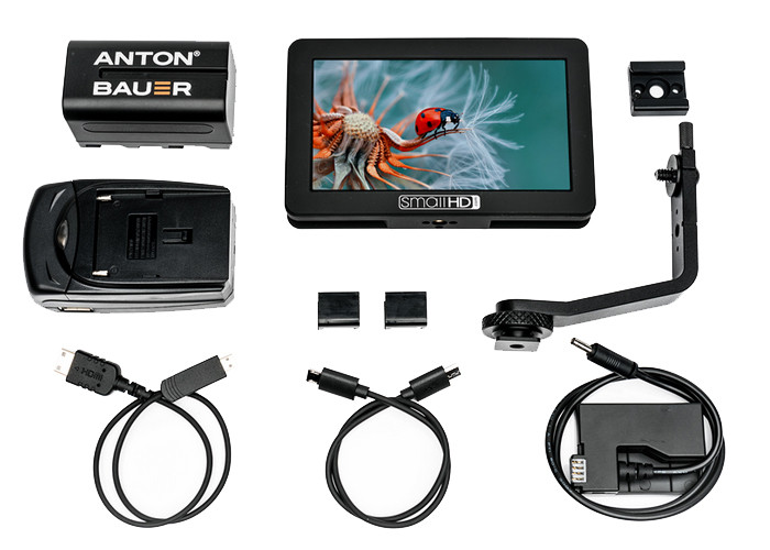 SmallHD FOCUS Canon LP-E8 Bundle