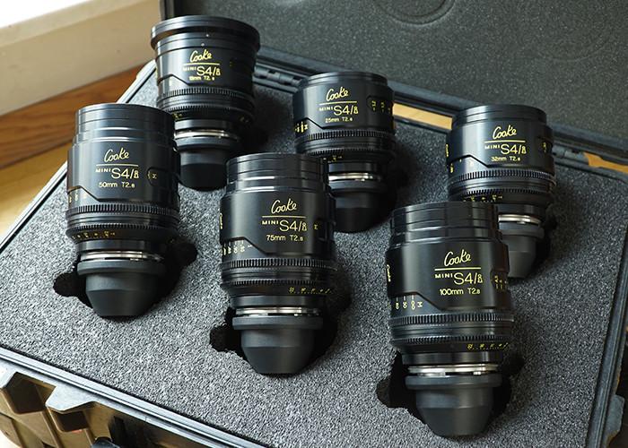 Cooke mini S4/i Prime Lenses T2.8 - zestaw (9 szt)
