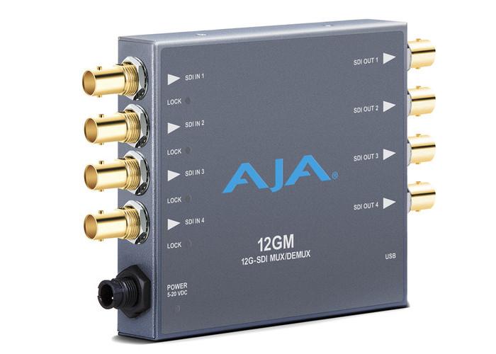 AJA 12GM 12G-SDI to/from SDI Muxer/DeMuxer
