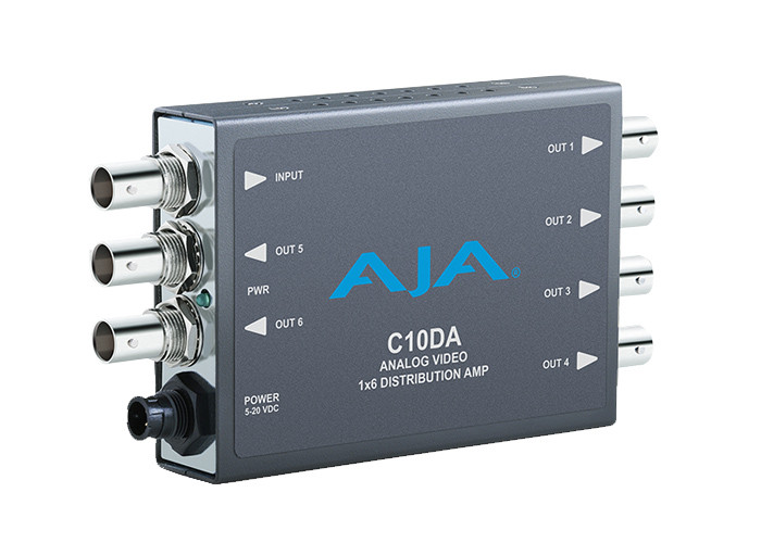 AJA C10DA Analog Video 1x6 Distribution Amplifier