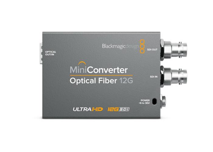 Blackmagic Design Mini Converter - Optical Fiber 12G