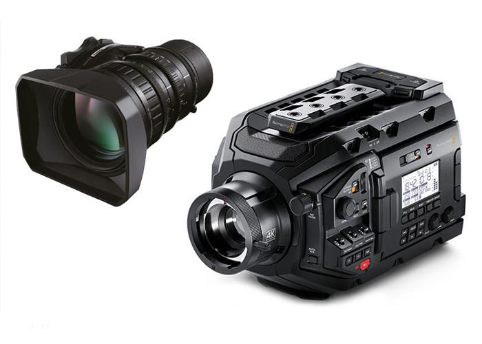 Blackmagic URSA Broadcast + Fujinon LA16x8BRM