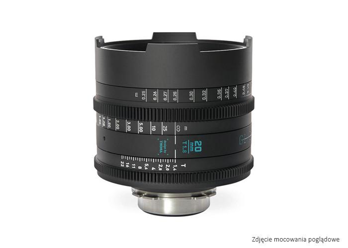 GECKO-CAM Genesis G35 20mm T1.8 EF / fmetric