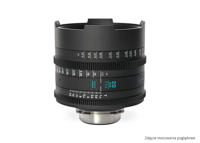 GECKO-CAM Genesis G35 20mm T1.8 E / metric