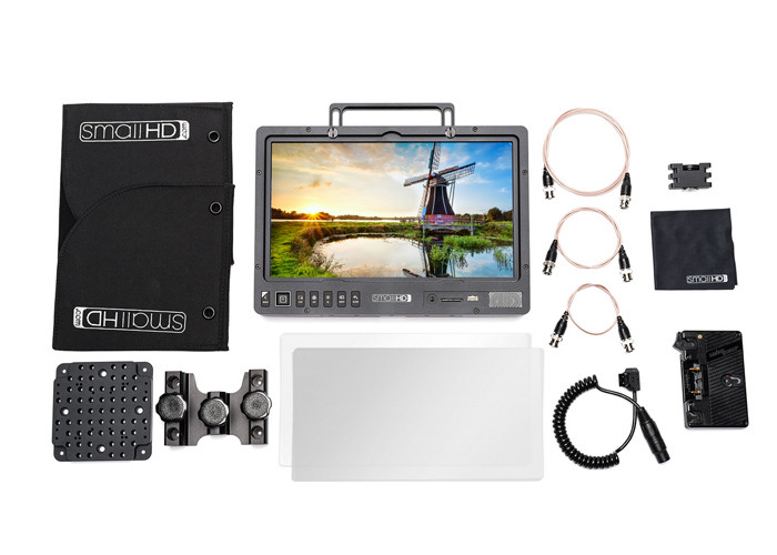 """SmallHD 1303 13"""" HDR Production Monitor Kit - Gold Mount"""