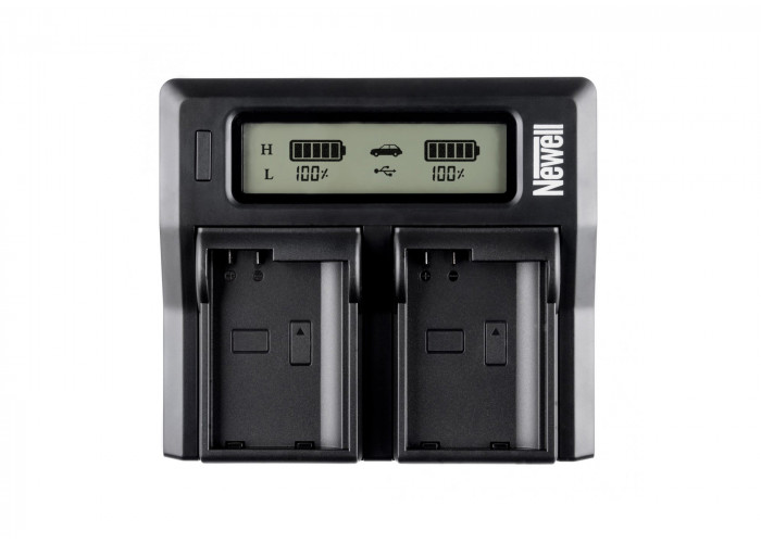 Newell Dual Charger LCD NP-F/FM 50