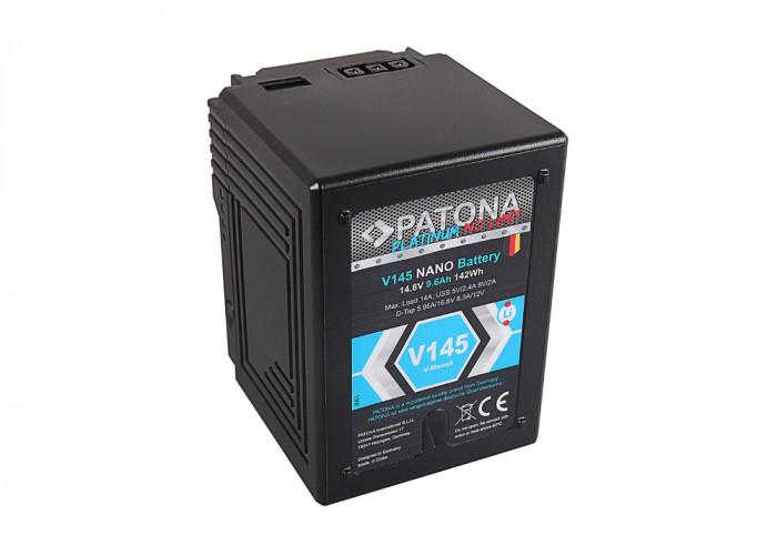 PATONA 1300 Platinum NANO V145 V-Mount 142Wh f. Sony DS