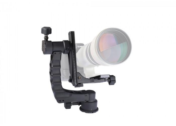 ProMediaGear (GK) Katana Gimbal Tripod Head Professional Telephoto Lens Support for Wildlife Photogr
