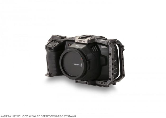 Tilta (TA-T01-FCC) Full Camera Cage for BMPCC 4K/6K-Tactical Grey