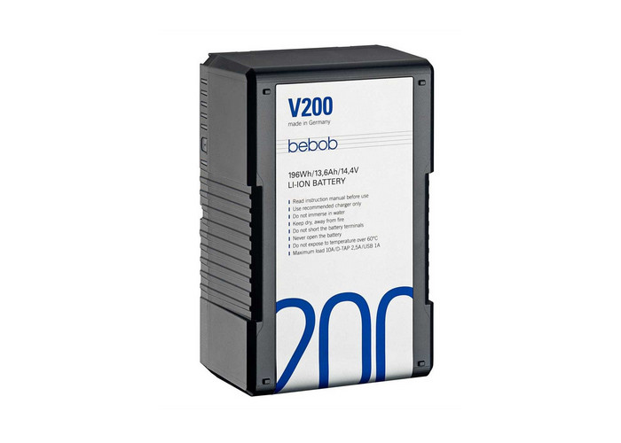 Bebob V-Mount battery V200 14.4V / 13,6Ah