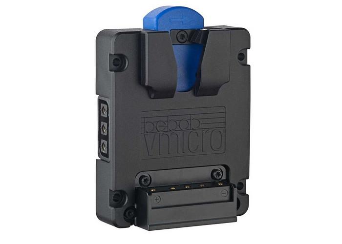 Bebob Vmicro Battery Plate z 2 Twist D-Tap and Lemo 2p