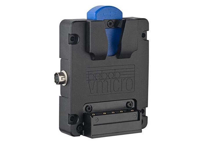Bebob Vmicro Battery Plate z Hirose 4pin i USB