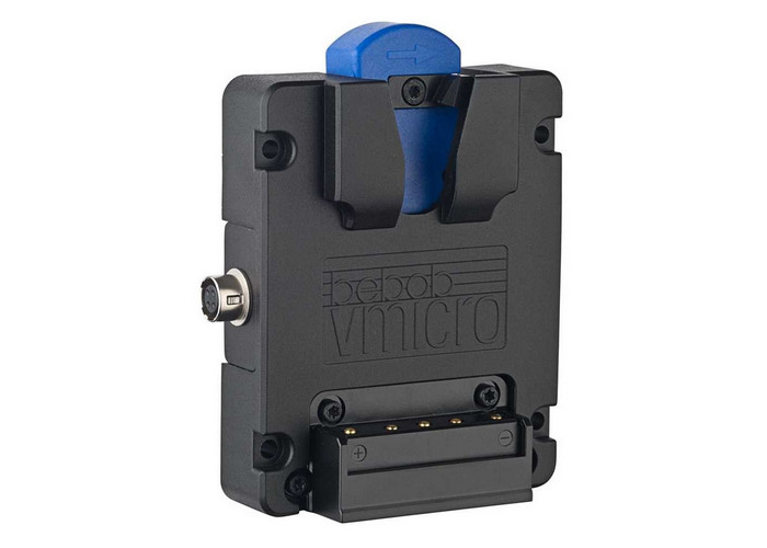 Bebob Vmicro Battery Plate z Hirose 4pin i USB-C