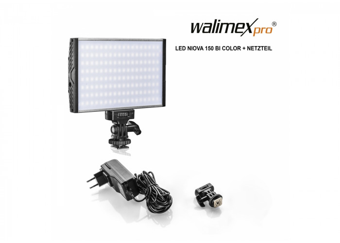 Walimex pro LED Niova 150 Bi Color + Zasilacz