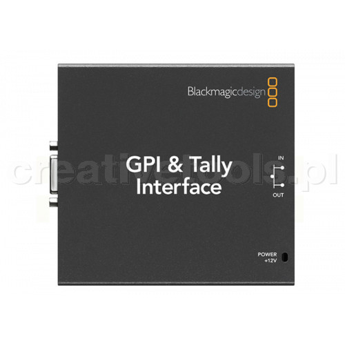 Blackmagic Design GPI and Tally Interface