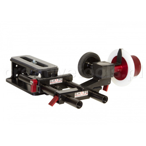 Shape (FFROD2) Follow focus friction & gear clic riser rail kit