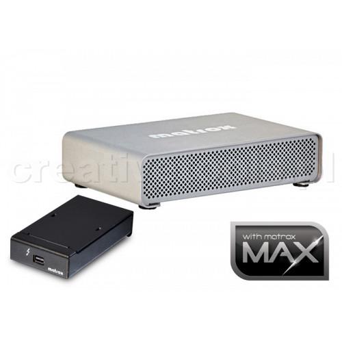 Matrox MXO2 MINIMAX Thunderbolt z adapterem