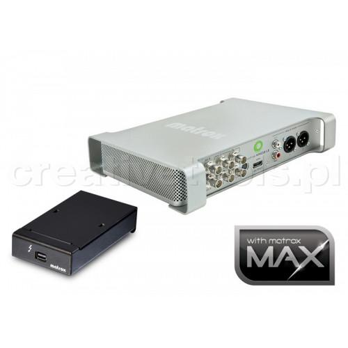 Matrox MXO2 LE MAX Thunderbolt z adapterem