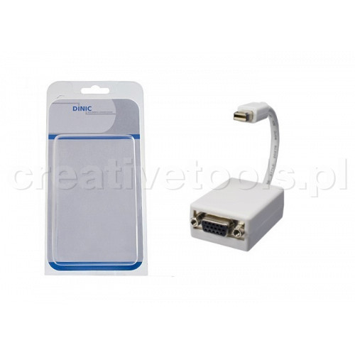 Dinic Adapter Mini-DisplayPort na VGA