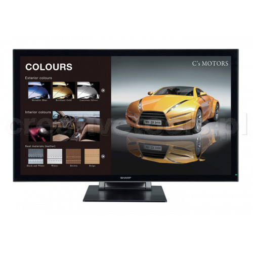 Sharp PN-K322BH monitor 4K Touch