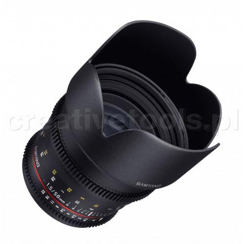 Samyang VDSLR 50mm T1.5 Micro 4/3 (MFT)