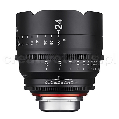 Samyang Xeen 24mm T1,5  PL