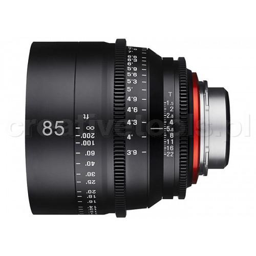 Samyang Xeen 85mm T1,5  Sony E