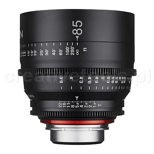 Samyang Xeen 85mm T1,5  Nikon F
