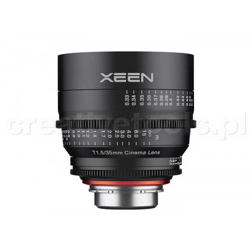Samyang Xeen 35mm T1,5  EF