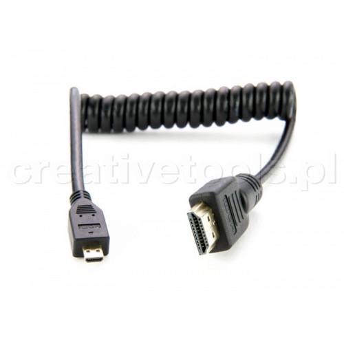 Atomos Micro HDMI /HDMI kabel spiralny 30-45 cm