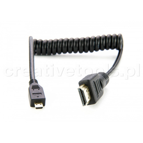 Atomos Micro HDMI /HDMI kabel spiralny 50-65 cm