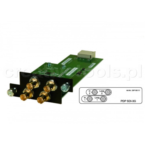 sonoVTS HD2line PRO PDP SDI-3G (Video Module)