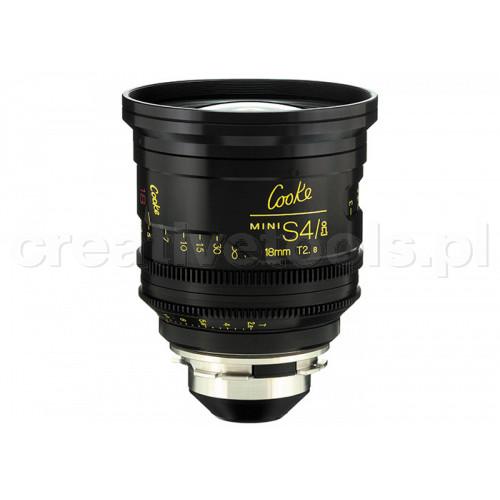 Cooke miniS4/i Prime Lenses T2.8 18mm