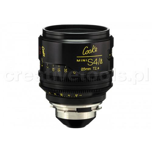 Cooke miniS4/i Prime Lenses T2.8 25mm