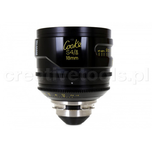 Cooke S4/i Prime & Zoom Lenses T2 18mm