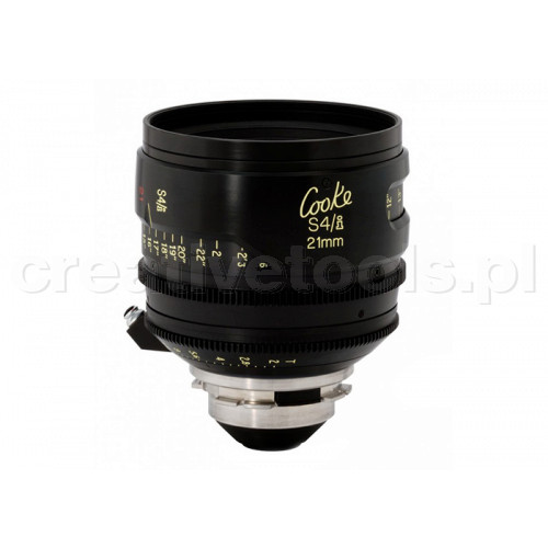 Cooke S4/i Prime & Zoom Lenses T2 21mm