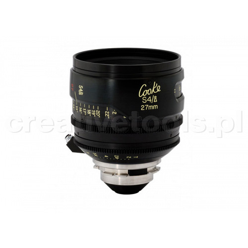 Cooke S4/i Prime & Zoom Lenses T2 27mm