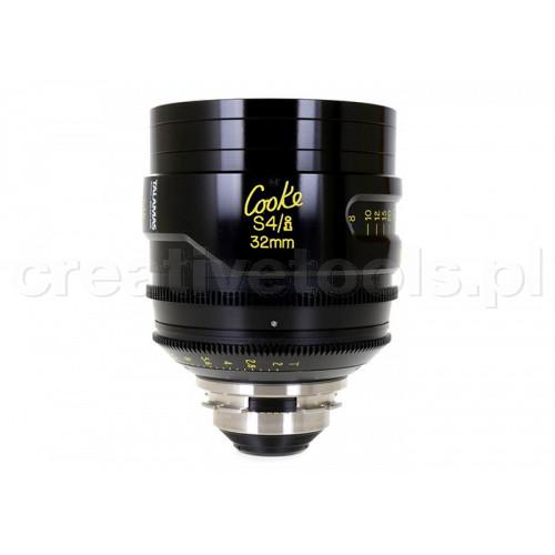 Cooke S4/i Prime & Zoom Lenses T2 32mm