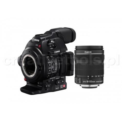 Canon Cinema EOS C100 Mark II EF 18-135