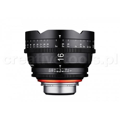 Samyang Xeen 16 mm T 2,6 Sony E
