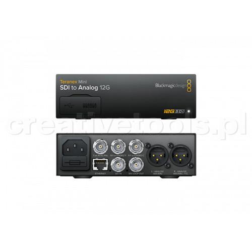 Blackmagic Design Teranex Mini SDI do Analog 12G